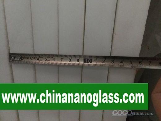 3CM SUPER THASSOS NANO GLASS MARBLE