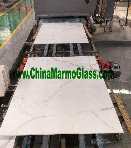 3D Printing Nano Glass Artificial Marble Slabs