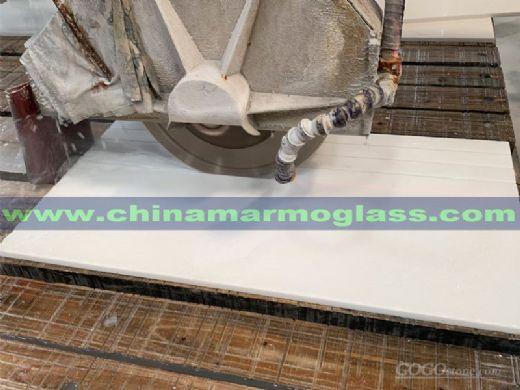 High Quality Nano Glass White Tile