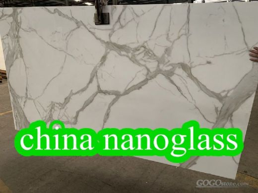 White Marble Looking Nanoglass