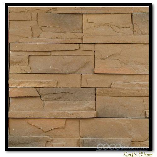 yellow stone slate