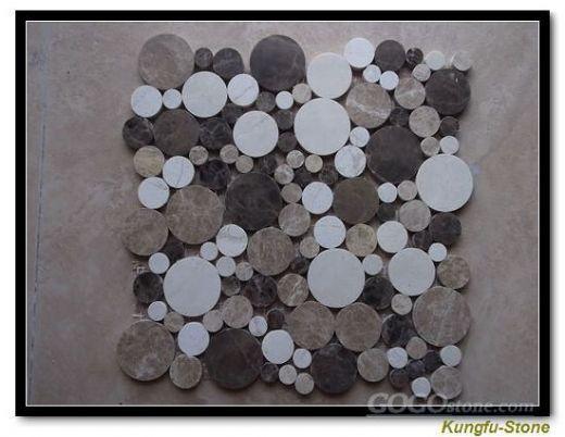 Pebble Stone Mosaic Panles
