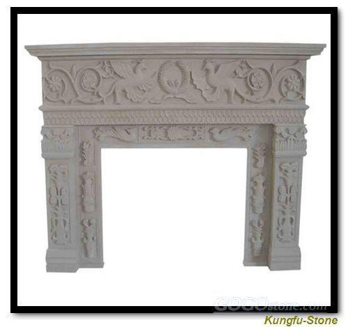 stone fireplace mental