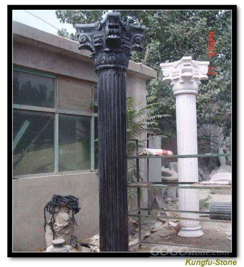 granite pillars and column