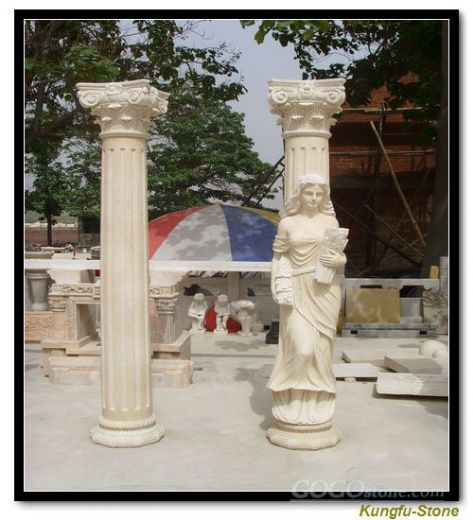 statue pillars and column