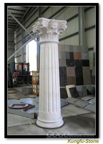 stone pillars and column