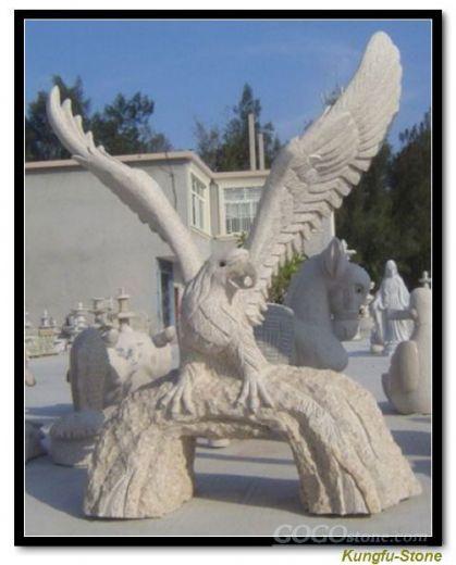 Eagle Stone Sculpture