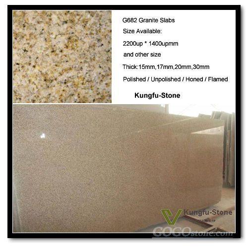 G682 Granite Slabs