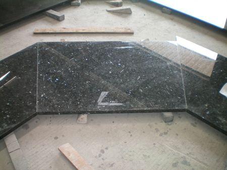 prefab granite island top