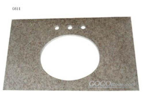G611 granite vanity top