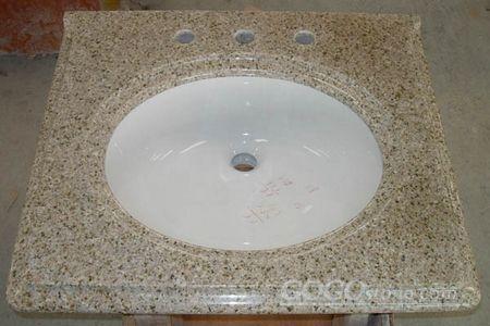 G682 granite vanity top