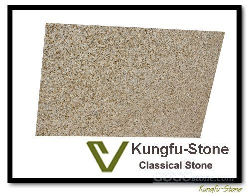 Yellow Rust Granite Countertop