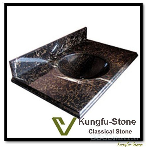 Brown Stone Vanity TOp