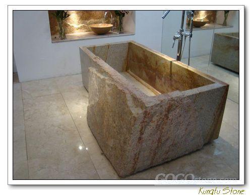 natural stone basin