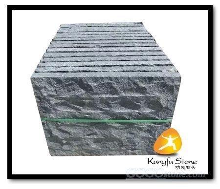 natural split basalt stone