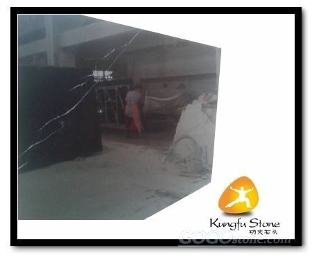 china black marble slab