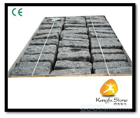 Tumbled Black Basalt Cobblestone