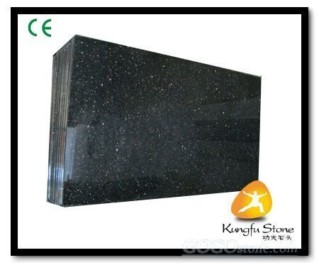 Black Galaxy Granite Facade