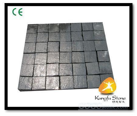 JN Black basalt cobblestone