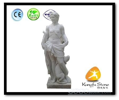European Man Marble Statue