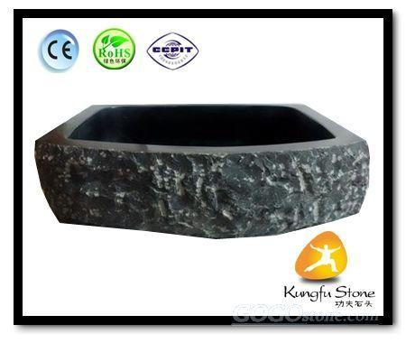 Square Art Split Stone Sink