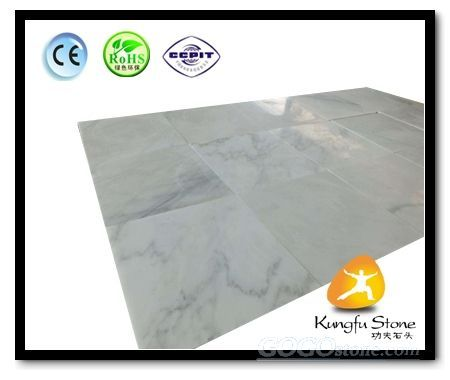 Thin White East Marble