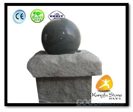 G654 Granite Ball Fountain