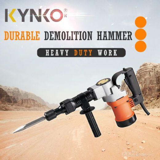 Kynko Power Tools Rotary Breaker Demolition Hammer Kd23