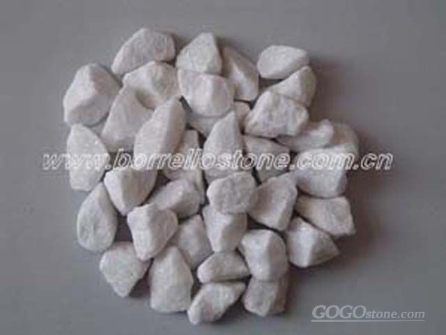 pure white gravel, pure white chippings