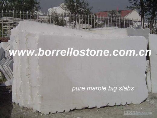 Snow White Marble Slabs