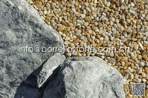 Resin bound pebble