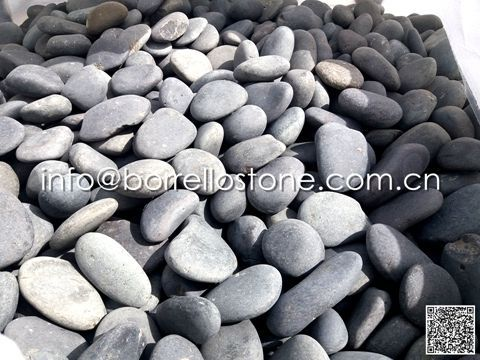 Flat pebbles stone