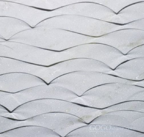 Natural Stone 3D Wall Art Doge Design