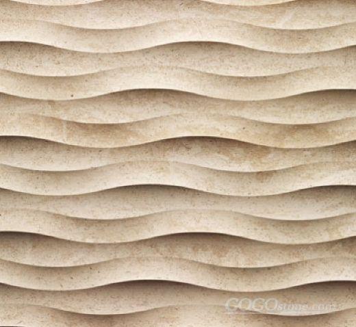 3D Natural Stone Wall Art Fondo Design