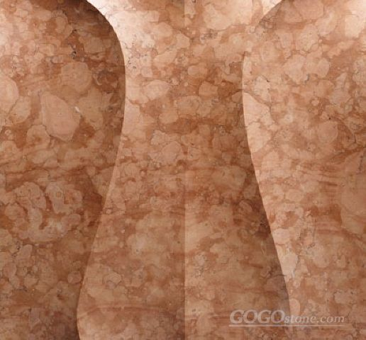3D roso verona marble feature wall tile