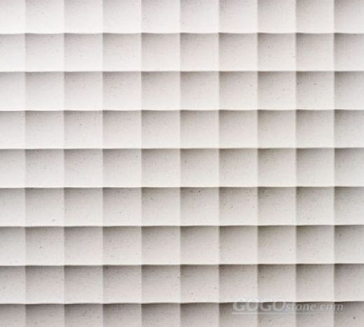 Natural limestone 3d wall art tiles