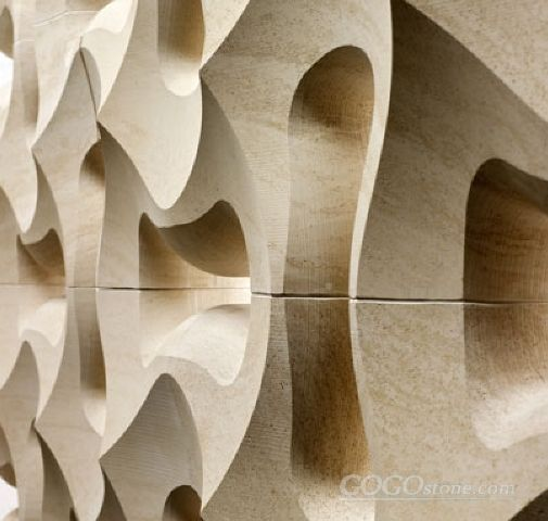 natural stone 3d interior feature wall tile