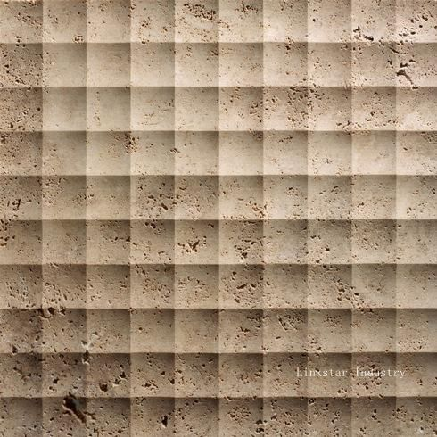 3d stone panels wall