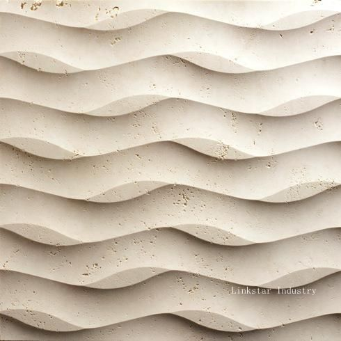 3d stone panels on walls