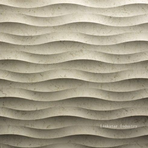 3d cnc feature stone wall tiles