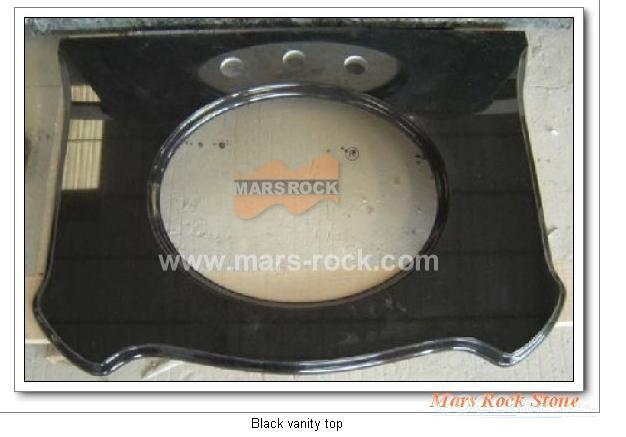 To Sell Black Vanity Top