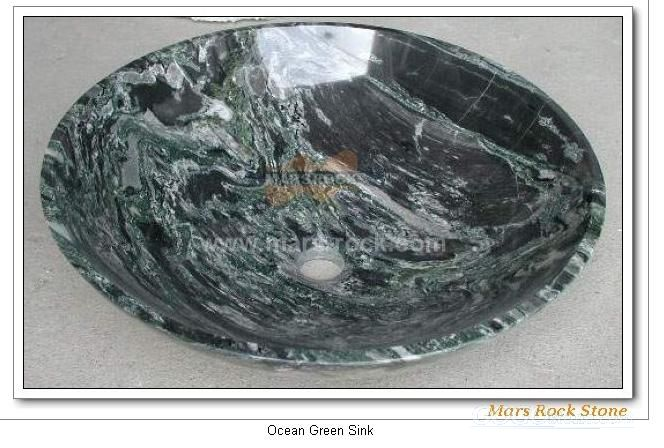 To Sell Ocean Green Sink