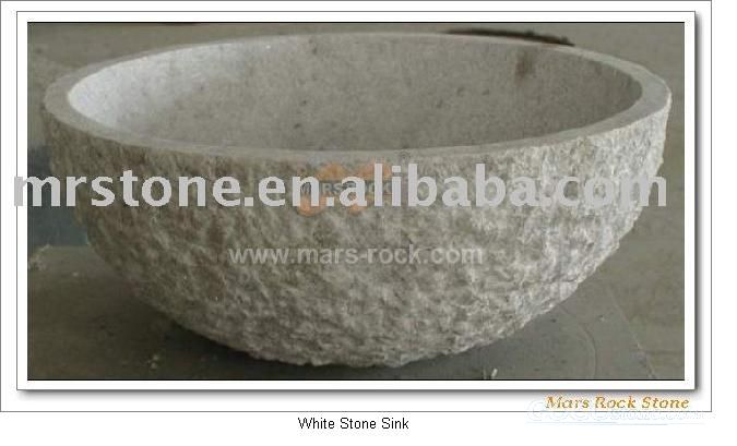 To Sell White Stone Sink
