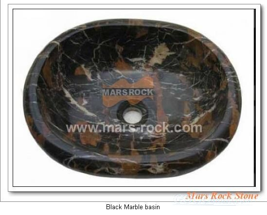 To Sell Black Marble Basin