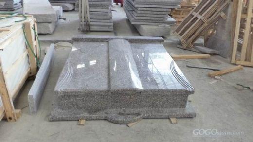 modern grave stones