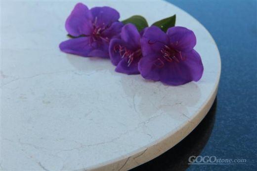 natural crema marifil marble serving tray