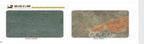 Green Slate&Rust Slate