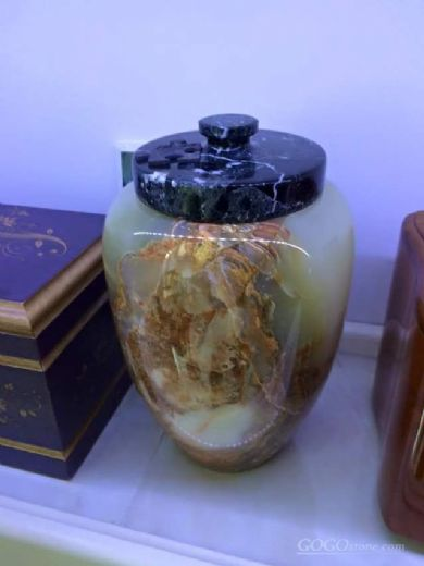 multi green onyx cremation funeral wholesale urns
