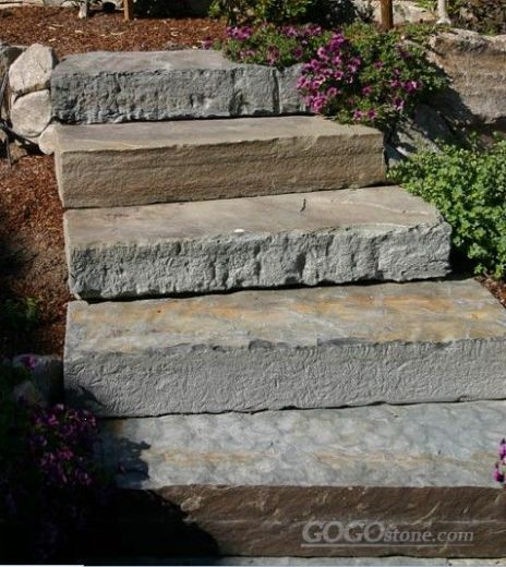 Garden Step Stone-Fuding Black