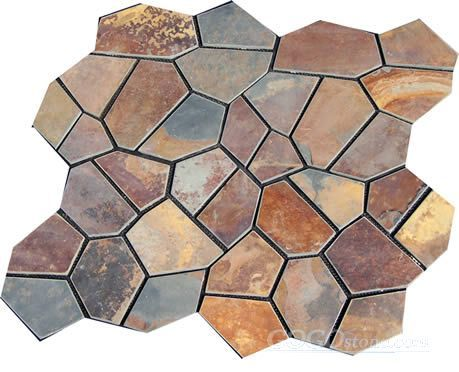 Flagstone Rusty Slate